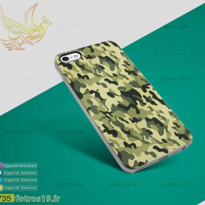 قاب موبایل چریکی سبز