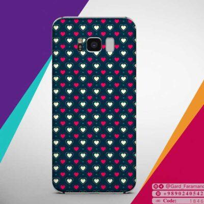 قاب موبایل فانتزی طرح قلب
